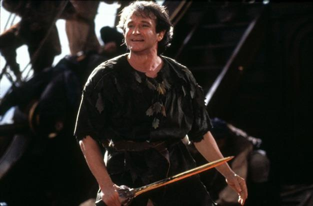 Robin's career reached new heights on his 1991 Neverland adventure, *Hook*.