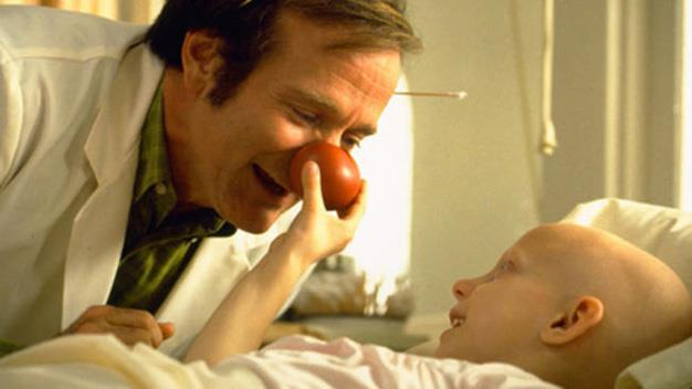 The comedic genius touched hearts everywhere with his role in *Patch Adams*.