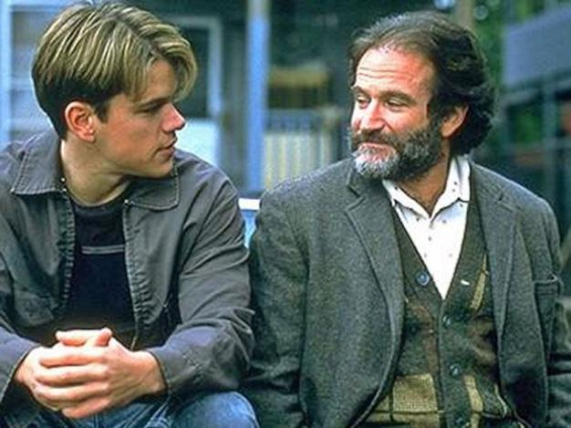 Robin received an Oscar for his dramatic performance in *Good Will Hunting*.