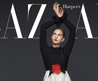 Emma Ferrer Harper's Bazaar