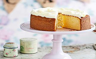 Simple butter cake
