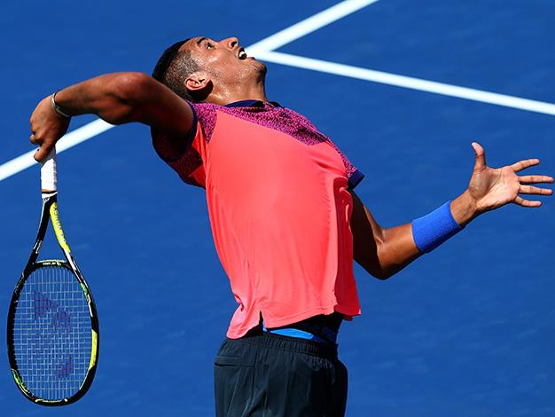 Nick Kyrgios flirted with disqualification at Flushing Meadows but his obscenities aren't likely to even make a blip on the dummy spit scale when you consider the superbrats that have gone before him.