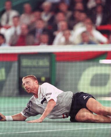 German racquet swinger Boris Becker was well known for his frequent meltdowns on the court. One of his most infamous outbursts was when he was matched against U.S. player Pete Sampras at the 1993 Wimbledon Tennis Championships.