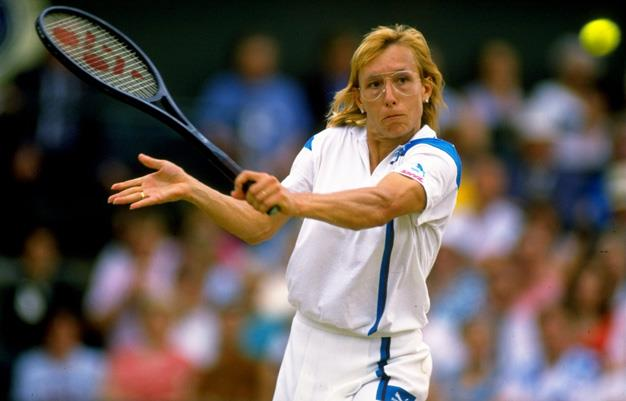 Nine-time winner of the Wimbledon women's singles title, Martina Navratilova lost her cool during an intense centre court match at the 1992 Wimbledon Championships where the Czech and American tennis player lost to top-seeded Monica Seles of Yugoslavia.