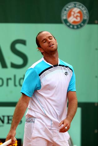 Belgian Xavier Malisse received an immediate disqualification and four week ban from a tournament in Miami in 2005 after hurling a ball at a lineswoman, verbally abusing other officials before kicking a fence and attacking it with his racquet.