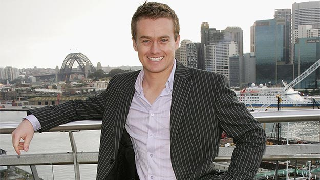 Former Sunrise Weather presentor Grant Denyer back in 2006