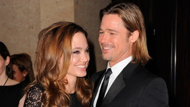Angelina Jolie and Brad Pitt marry