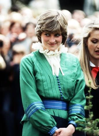 Diana in March, 1981, before her marriage to Charles.