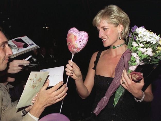 Diana on her 36th birthday in 1997, shortly before her death.