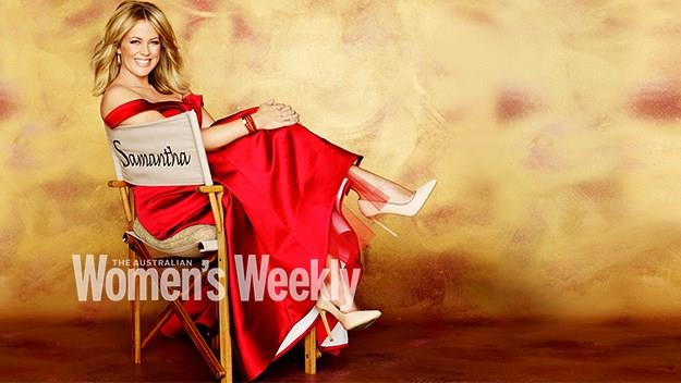Samantha Armytage in The Weekly. Photography by Michelle Holden. Styling by Mattie Cronan.