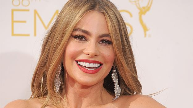 Sofia Vergara at the 2014 Emmys.