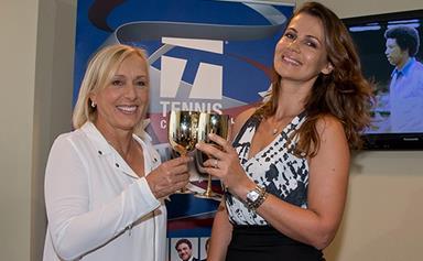 Tennis star Martina Navratilova proposes to girlfriend