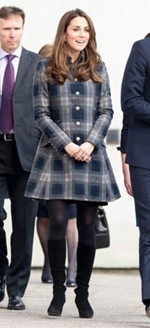 Kate in Glasgow in April last year.