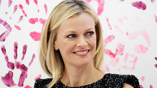 National Breast Cancer Foundation ambassador Sarah Murdoch. PHOTO: Getty.