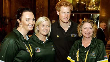 Prince Harry's Australian initiation at Invictus Games