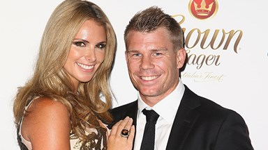 Candice Falzon and David Warner welcome daughter