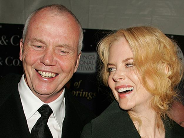 Nicole Kidman and Antony Kidman at the Palm Springs International Film Festival Awards Gala in 2005.