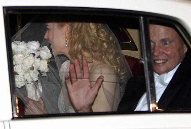 Nicole Kidman and Antony Kidman leave the star's Darling Point Home and make the journey to Manly for Nicole's wedding to Keith Urban on Sunday, June 25, 2006.