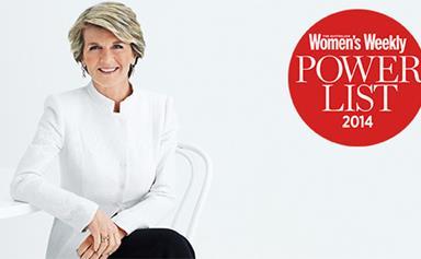 Julie Bishop voted most powerful woman in Australia