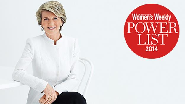 Foreign Affairs Minister and Deputy Leader of the Liberal Party Julie Bishop
