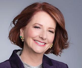 Julia Gillard had some hard words for her critics