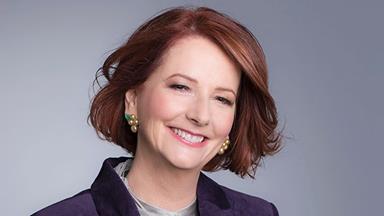 Julia Gillard had some hard words for her critics