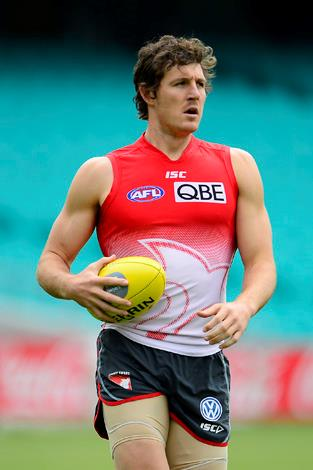 While Swans forward Kurt Tippett might wear number 8 on his Guernsey we give him a 10 out of 10.