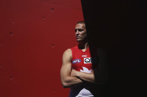 If Swans centre half-forward Sam Reid lucks out in his AFL career he could always become a male model.