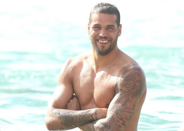 Lance 'Buddy' Franklin is the game's biggest name and for this lists purposes, biggest babe. Apart from his creamy caramel complexion and dreamy hazel eyes the man of the moment has the Swannies premiership hopes resting on his big broad shoulders. Luckiest. Woman. Ever. Jesinta Campbell!