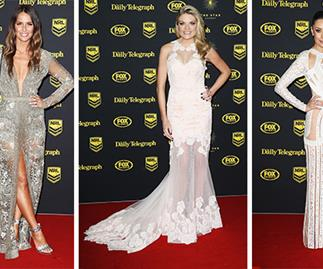 Dally M Awards red carpet looks