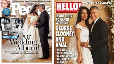 George Clooney and Amal Alamuddin's wedding photos
