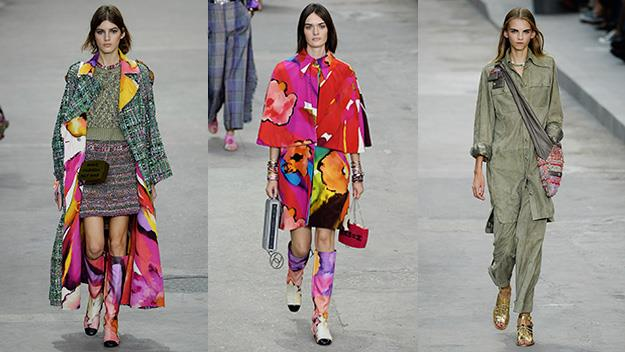 Chanel's Spring/Summer 2015 ready-to-wear collection.