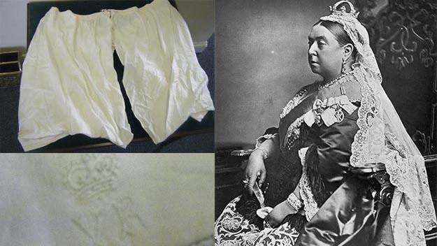 Queen Victoria's underwear