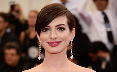 Anne Hathaway talks about her struggles with fame