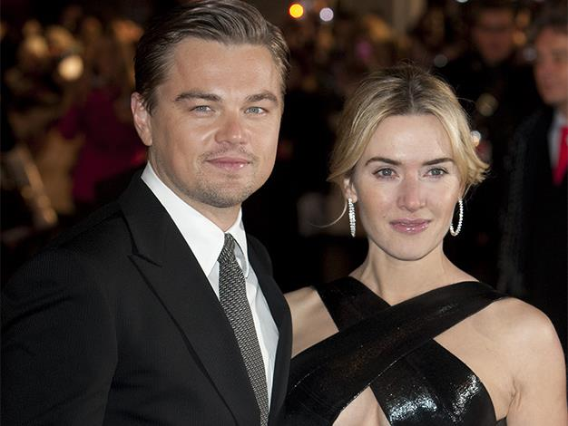 Kate Winslet and Leonardo Dicaprio on the red carpet for the European premiere of 'Revolutionary Road' in 2009.