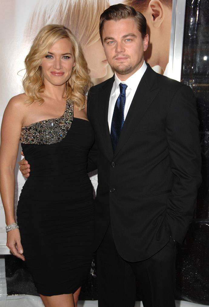 Kate and Leo at the Los Angeles premiere of 'Revolutionary Road'.