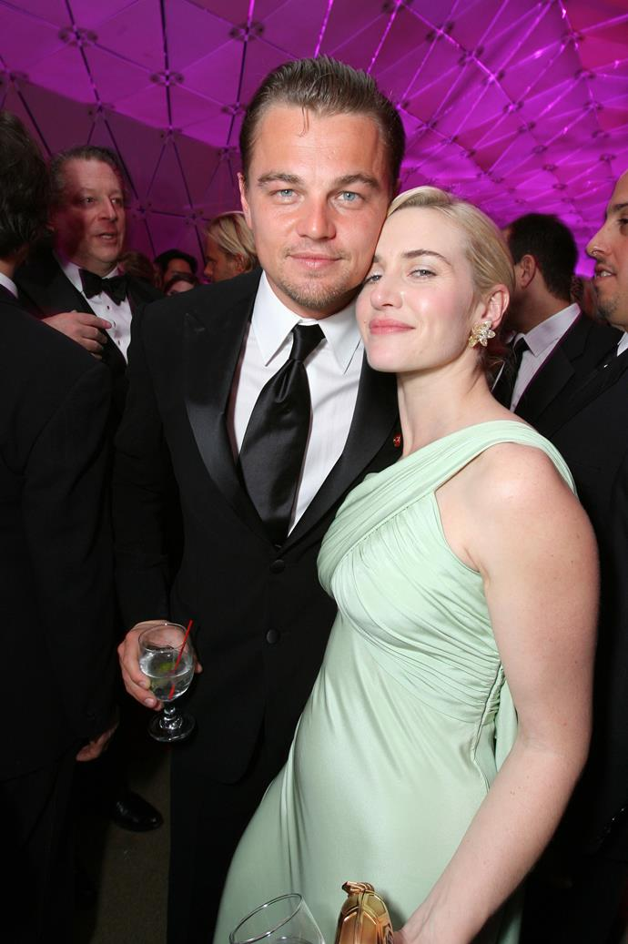Together again at the Vanity Fair Oscars Party in 2007.