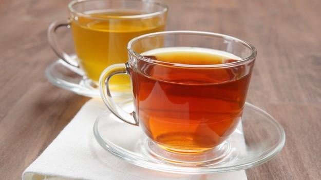 Tea cups, stock image