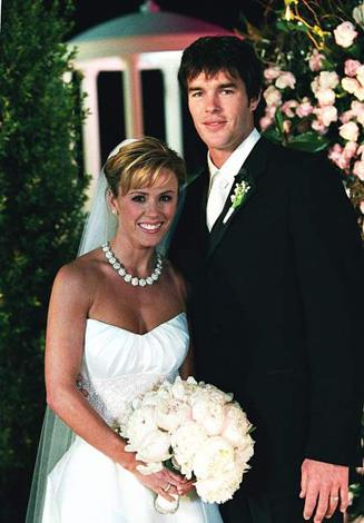 **The Bachelorette US Season 1: Trista Rehn, Ryan Sutter:** While she may have lucked out on season one of The Bachelor, Trista Rehn picked former NFL player and Colorado firefighter, Ryan Sutter to be her final suitor. The pair married in a televised wedding on ABC on December 6, 2003 and are still together today with two children.
