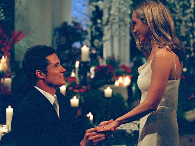 **The Bachelor US Season 3: Andrew Firestone, Jen Schefft:** Although the super cocky Andrew Firestone picked Jen Schefft to be his last standing lady love nobody was surprised when they broke up and Firestone went on to marry model Ivana Božilović. The couple now have two children, Anja and Adam.