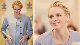 Princess Charlene pregnant