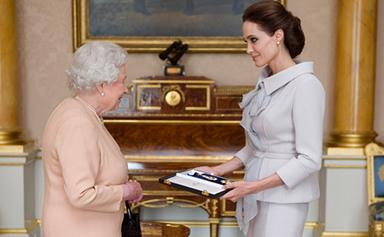 Angelina Jolie made an honorary Dame by Queen
