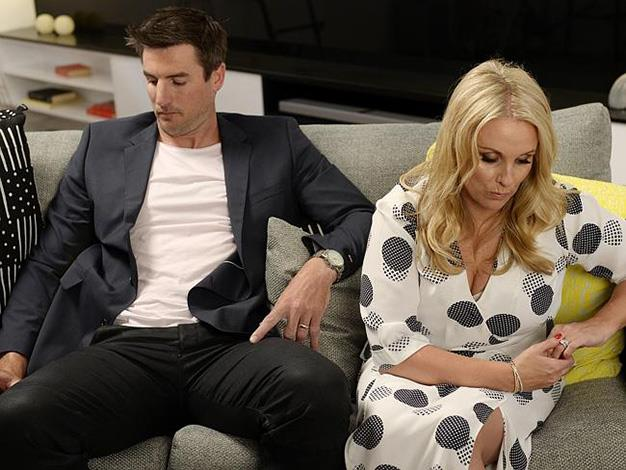 """Blockheads Dee and Darren were devastated about their $10,000 profit. Outspoken Dee told Kyle and Jackie O: """"It was a completely unexpected result for all of us."""" PHOTO: Channel 9."""
