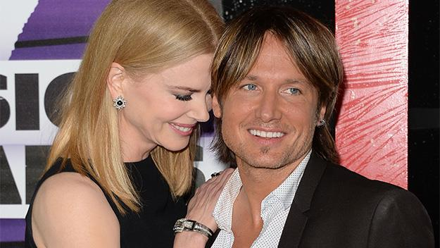 Nicole Kidman with husband Keith Urban.