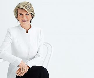 Foreign Minister and Deputy Leader of the Liberal Party Julie Bishop