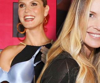 Heidi Klum and Elle MacPherson