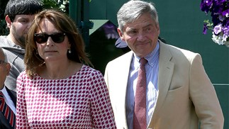 Carole and Michael Middleton.