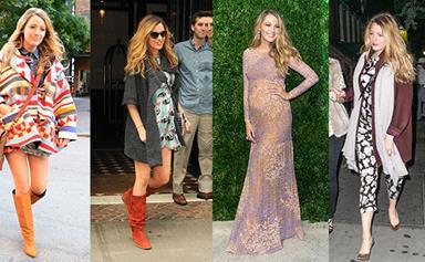 Blake Lively's amazing maternity style