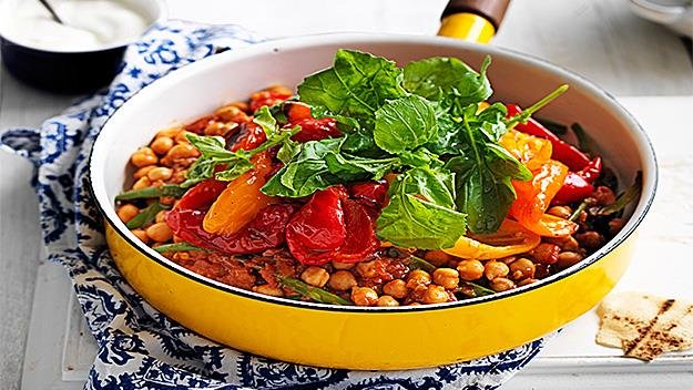 Smoky chickpea stew