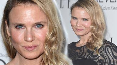 Renee Zellweger's face is just fine!